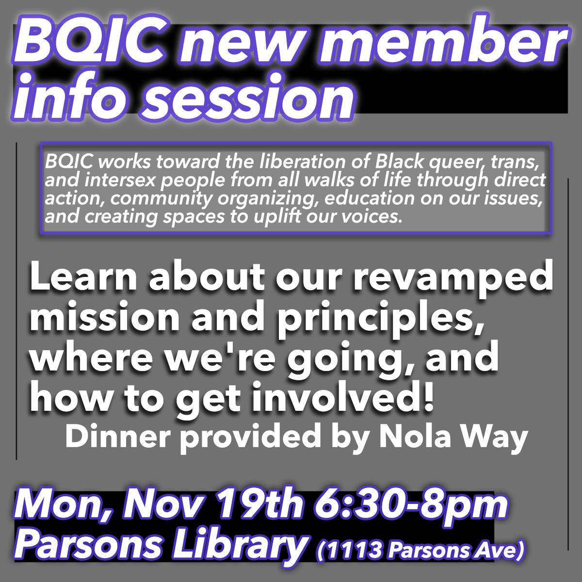 new member info session